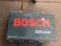 Bosch electric drill (and drill bits)