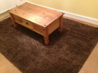 """rug as new dunelm mill 92""""by62""""large living room rug unmarked deep pile bargain"""