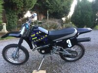 champ 50cc geard 2 stroke off road motorbike