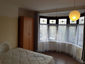 Very large Double room to rent for a single working person in a house in Ilford/Barking IG3 9EQ