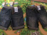 2-3 year NEW matching shorts