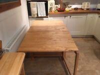 Kitchen table -Gateleg table. Ikea