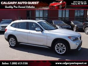 2012 BMW X1 xDrive28i AWD/PANO-ROOF/LEATHER