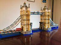 Lego Creator model of Tower Bridge