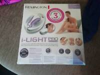Remington i-light Pro, face and body hair removal system