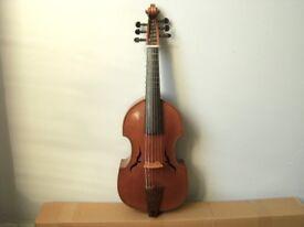 Viola da Gamba, treble viol