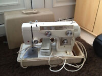 New Home (Janome) 690 Electric Semi Industrial Sewing Machine (Peddle, Cover) Spares
