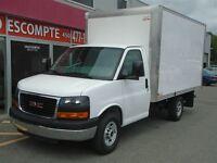 2015 GMC Cutaway 3500 Van CUBE 12'