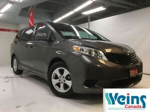 2014 Toyota Sienna $168.34/BW+HST , TCUV , CE , 1 OWNER