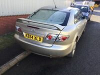2004 Mazda 6—11 months mot,service history,ac,cd,alloy,remote key,excellent runner,very reliable car