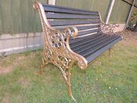 Regal Garden Bench - 2 seater - refurbed