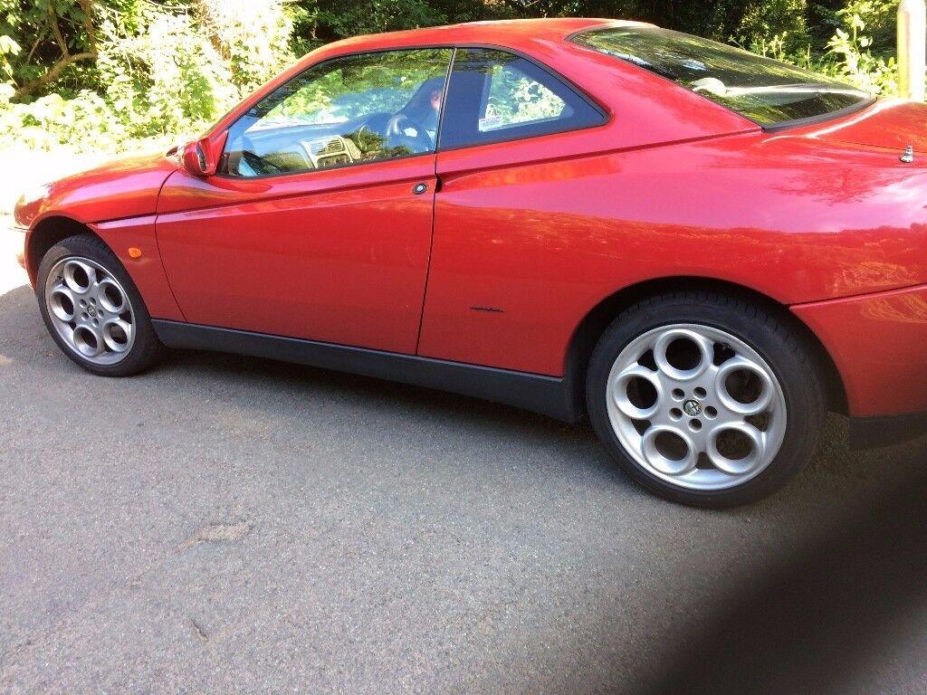 "Alfa Romeo Gtv spider 916 Set of 4 17"" Teledials with good tyres"