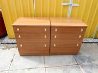 2 Matching Chest of Drawers - - £20 - - -