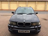 BMW X5 superb condition for age, drives excellent, no knocks or bangs, alloys,sat nav,all elecs