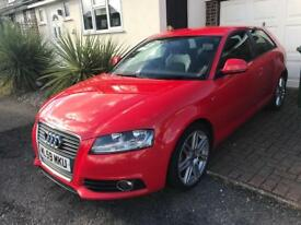 Audi A3 Sline 2.0 tdi 170bhp 3 door just been serviced new mot
