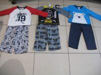 Boy's pyjama sets age 2 years