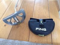 Golf Putter, Ping 'Doc 17' 35 inch, very good condition.