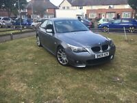 BMW 5 series MSport diesel hpi clear 09 plate