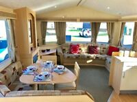 6 Berth Static caravan for sale Isle Of Wight on a 12 month park, IOW, with sea & countryside views