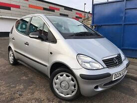 Mercedes-Benz A Class 1.4 A140 Classic Full Service History 1 Owner Recently Serviced Low Insurance