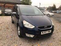2007 Ford Galaxy 1.8 TDCi Zetec 5dr 1 PREVIOUS OWNER+7 SEATER
