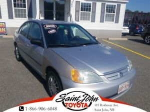 2002 Honda Civic DX-G !!! $4000 ON THE ROAD!!!