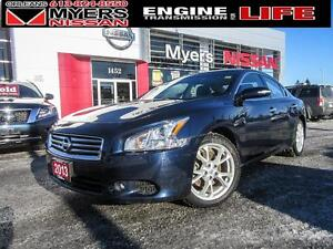 2013 Nissan Maxima INTELLIGENT KEY, LEATHER INTERIOR, SUNROOF, H