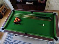 6ft x 3ft Superleague English Pool Table Slate Bed Pub Type
