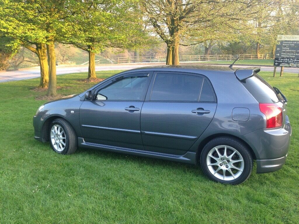 2007 toyota corolla 2 0d4d sr top of the range in bradford west yorkshire gumtree. Black Bedroom Furniture Sets. Home Design Ideas