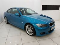 BMW 3 SERIES 2.0 320i M SPORT COUPE 2 DOOR - 12 MONTH MOT - 12 MONTH WARRANTY - £0 DEPOSIT FINANCE