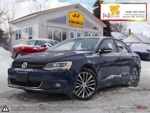 2014 Volkswagen Jetta 2.0 TDI Highline Diesel ,6Spd ,Leather