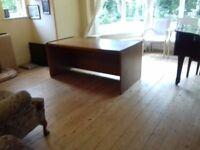 Oak Architect's/Draftsman's/Computer Desk