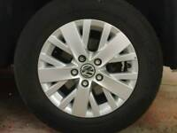 "VW Transporter Highline 16"" Alloys"