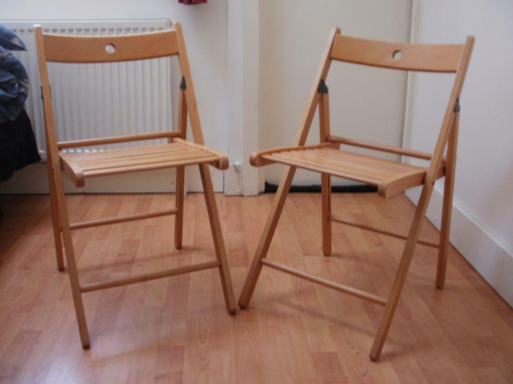 Two ikea terje folding chair in headington oxfordshire for Ikea folding stool