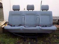 VW T4 Three Rear Seats