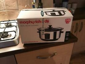 Brand new morphy Richards slow cooker