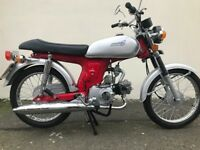 2016 NANFANG NF50cc MOPED (OLD 70S STYLE SS50 LOOK) LOW MILES 128 -ONLY £750