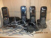 Panasonic Answer phone & 3 receivers