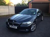 Fully Loaded Bmw 5 Series 2010 New Shape Auto 520d Se Diesel Bi-Xenon Lights Massage Leather Seats