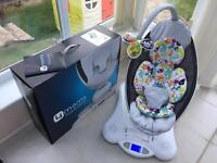 4moms Mamaroo with Newborn Insert, All accessories, Box and Instruction Manual