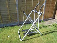 Tony Little Gazelle Freestyle Cross Trainer Low Impact Exercise Machine.