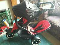 Phil and Teds Dot Buggy with 2nd Seat & lots of extras