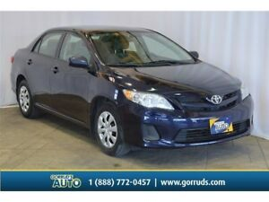 2013 Toyota Corolla CE/POWER WINDOWS/MANUAL/AC/CD