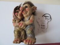 Troll Gnome Garden Gift Ornament - Brand New