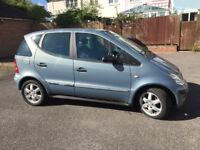 Mercedes A140 Classic 5dr petrol 2003, 52,000 miles, one owner, full service history, good for age