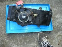 HONDA CBR600 CBR 600 FH-FL 1986-1989 JOB LOT PARTS COIL FOOTRESTS WIRING LOOM RADIATOR