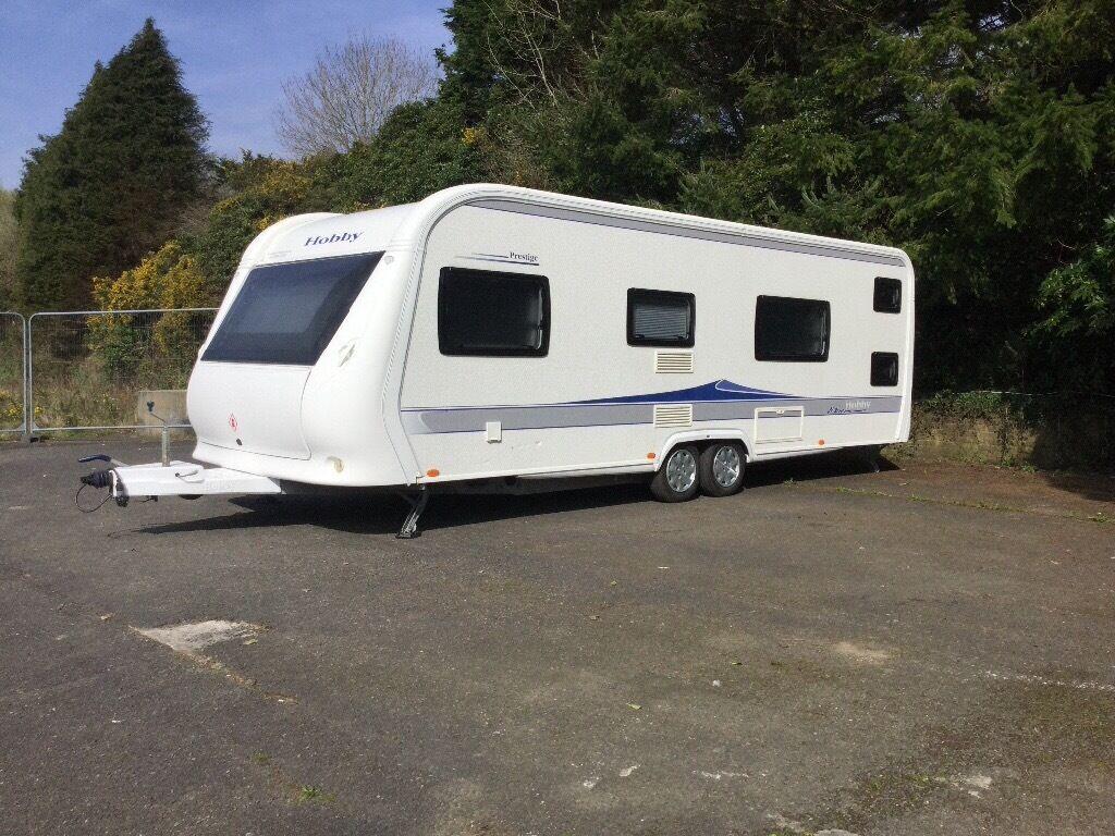 hobby prestige caravan 650 kfu in bodmin cornwall gumtree. Black Bedroom Furniture Sets. Home Design Ideas