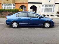 Honda Civic Hybrid Blue(low mileage) in Immaculate Condition/road tax £10/£4250 ONO
