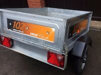 ERDE lightweight trailer latest model with LED lighting