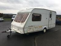 2001 Swift 2 berth touring caravan